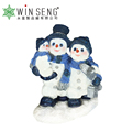 Furnishing Polyresin Snowman Family Home Decorative