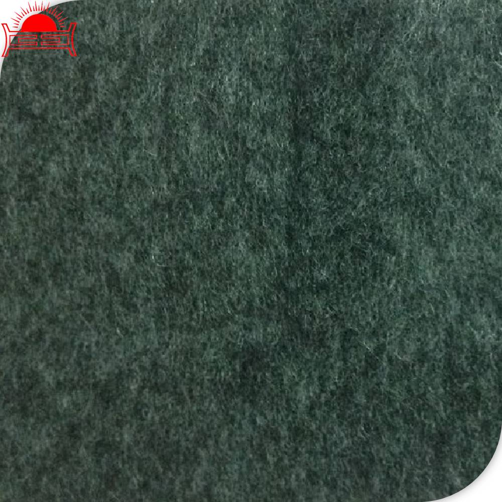 non woven material plaid felt fabric custom made shoe material sole