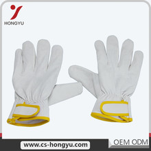 Contact us cheap soft touch leather working gloves for winter