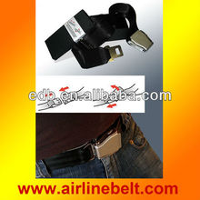 Unique aircraft buckle black belts, black belts, men black belts