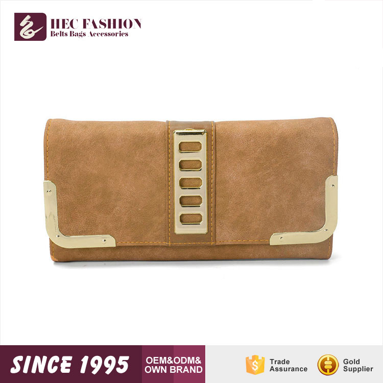 HEC Wenzhou Factory Online Shopping Thin Shape Cell Phone Ladies Purse and Bags