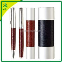 JD-C495 hot-selling gift leather pen&leather pen case