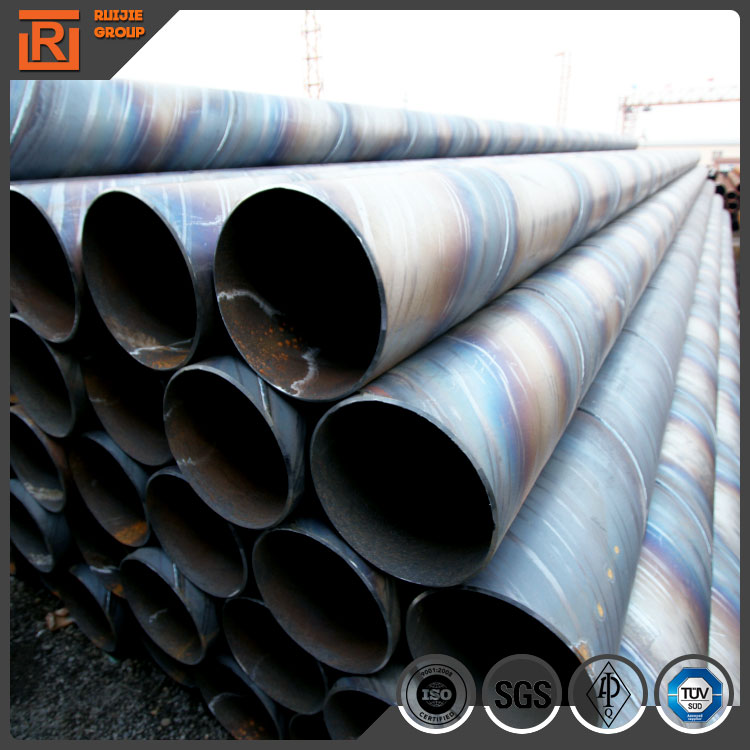 273mm SSAW spiral welded steel pipe, carbon steel spiral weld pipe, ssaw pipe weight per meter