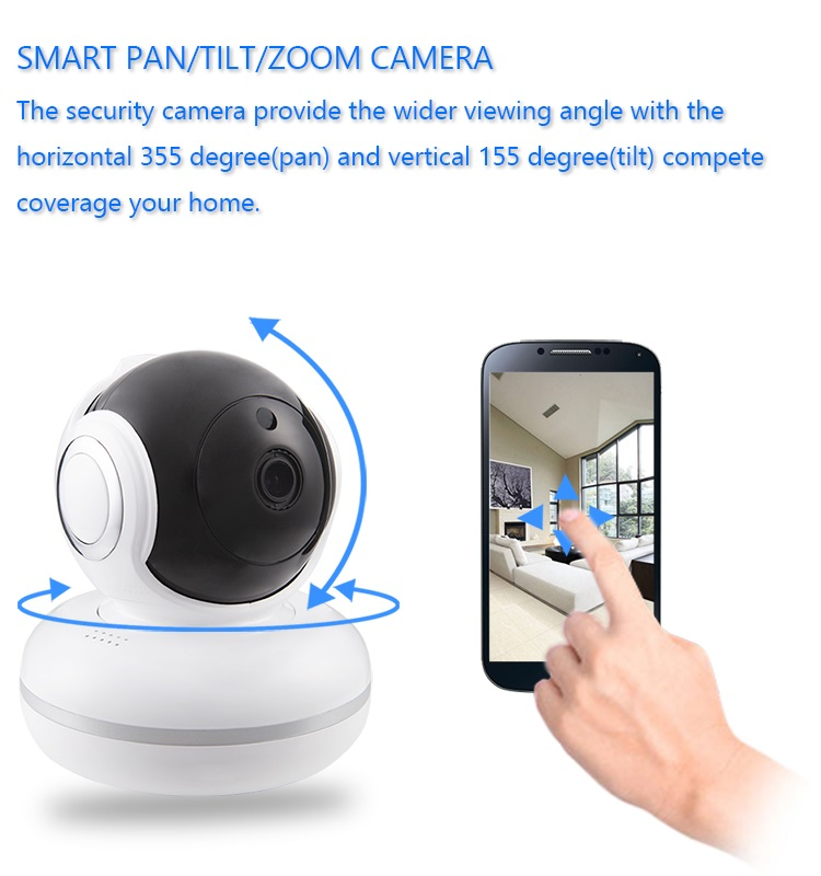 New Arrival 1080P Plug and Play Wireless Wifi Mini Night Vision Camera