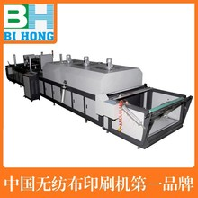 single color roll to roll screen decorating machine