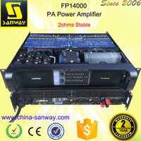 FP14000 Sanway Class TD Switch Power Transistor Audio Amplifier