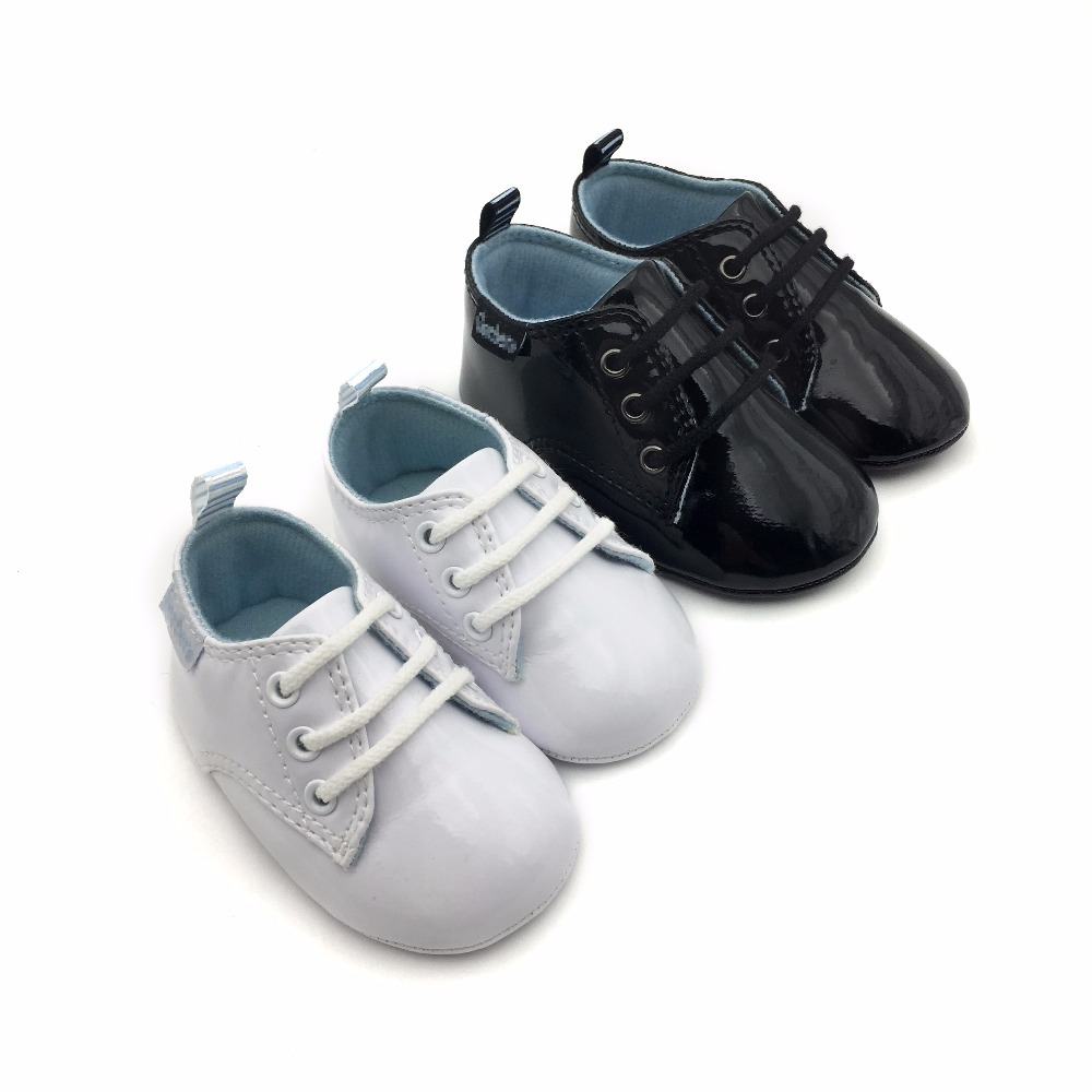 Wholesale soft sole newborn toddler baby boy shoes leather 2017 baby shoe