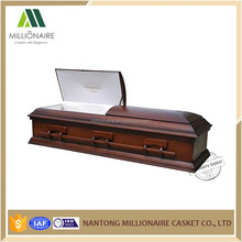Luxury funeral casket price colors of casket coffin