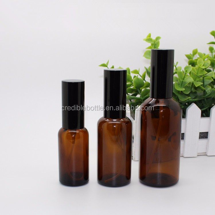 15 ml, 30 ml, 60 ml amber glass spray bottle