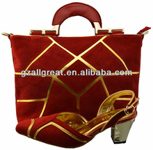 Matching shoes and bags/Genuine leather shoes and bags