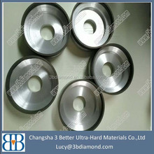 Electroplated V shape diamond grinding wheel for high speed mill/HSS steel