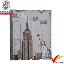 inspire paints new york wooden plaque vintage