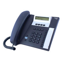 Corded phone with 10 name keys for 20 names and numbers GIGASET EUROSET 5020 Antracite color