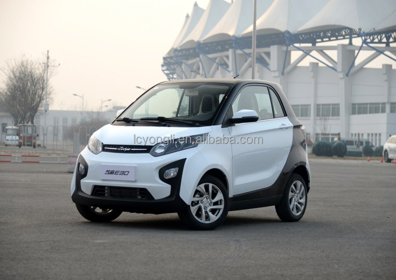 Lithium battery 2 seats small zhong tong electric car made in china 100km/h