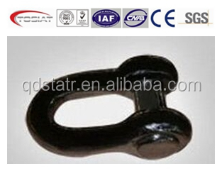 marine end anchor shackle D type