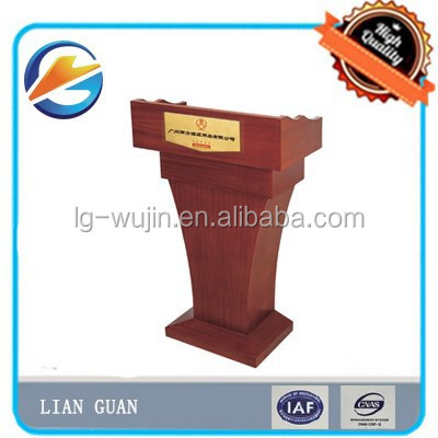 Hotel Wooden Lectern/Podium/Platform/Dais/Rostrum Fashion design Furniture