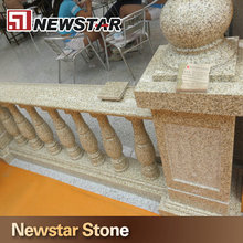 granite stair railing outdoor banister