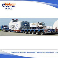 Factory Low Bed Galvanized Modular Semi Trailer for Excavator Transport(Customized)