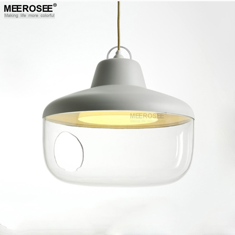 Modern Style Glass Hanging Chandelier Glass Pendant Light Fitting for Dining Room, Coffe, Restaurant MD83003