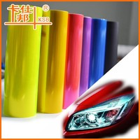 Colorful Tint Vinyl Car Headlight Tail Light Wrap Film