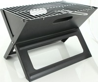 Foldable hibachi portable X shape bbq grill for camping