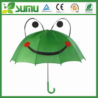 "Promotion 17"" * 8 ribs auto open cute umbrella kids"