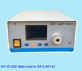 medical fiber optic cable led cold light source with display screen