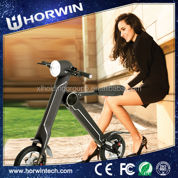 Battery Powered electric Folding three wheel cargo motorcycle from Horwin