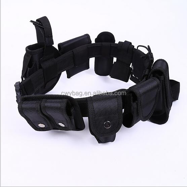 Pouches adopts Nylon with different pouches multifunction Tactical Belt