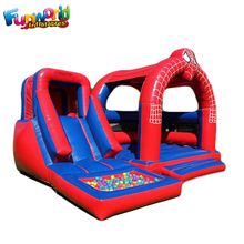 Hot kids bounce house with slide inflatable bouncer inflatable jumping castle