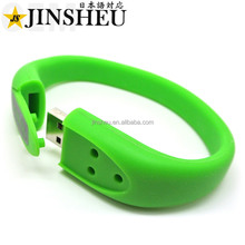 Bulk Promotional 2GB Special Bracelet USB Custom Logo Flash Drive