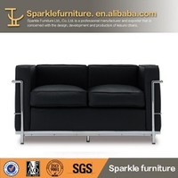 Affordable Designer furniture Le Corbusier sectional sofa