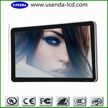 Wall mount 55inch touch screen lcd digital tv signage, all in one lcd ad clear screen display, commercial screen monitor