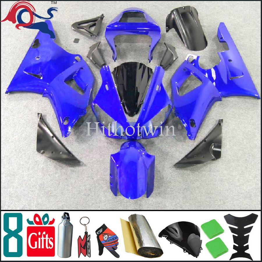 2000 2001 YZFR1 all blue ABS <strong>Fairings</strong> For yamaha YZFR1 2000 2001 FMotorcycle Plastic YZF-<strong>R1</strong> 00 <strong>01</strong>