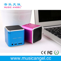 Music Angel JH-MD06 TF card cube bass peaker portable speaker power bank mobile phone accessory