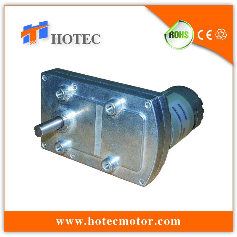 8mm Shaft Flat Gear Reduced Low Rpm High Torque 12 Volt Dc