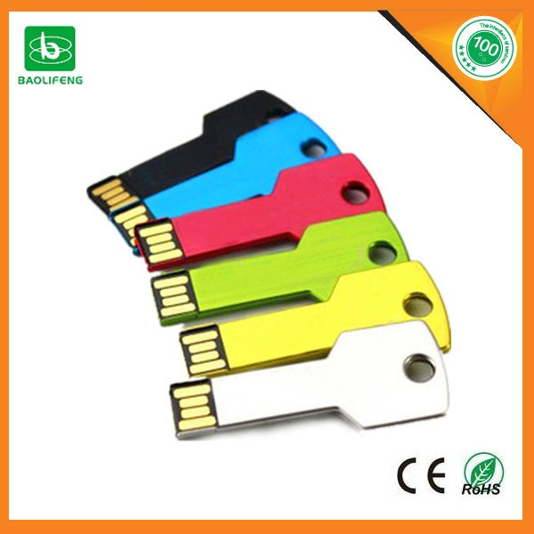 2017 new product Hot selling metal key shape usb memory stick