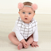 Cotton Baby Bandana Drool Bibs For