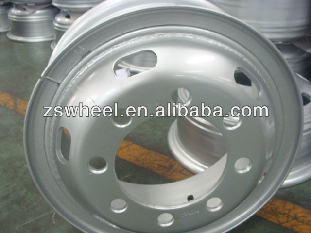 tube steel wheel rims 8.5-20 for tyre 12.00-20