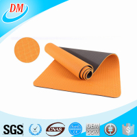 183cm*61cm* 8mm double color wholesale TPE yoga mat factory price