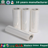 Self Adhesive Clear Plastic Film LLDPE Stretch Wrap Film