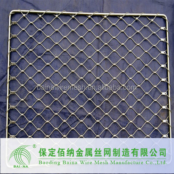 Factory Supply Stainless Steel Architectural Exterior Decorative Curtain Mesh