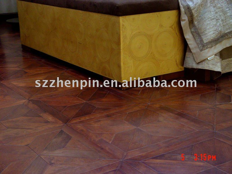 hotel home interior patterned parquet wood flooring carbonized oak