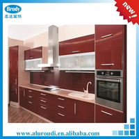 2016 modern aluminum profile for kitchen cabinet HOT SALE