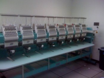 2006 Tajima 8 Head TFMX-IIC1508 machine