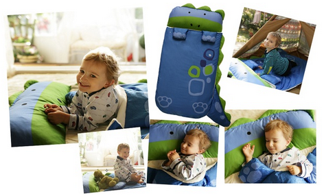 Children's Creature Sleeping Bag
