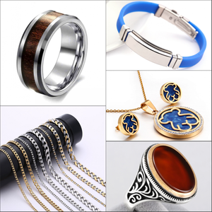 all kind of stainless steel jewelry with quick shipping and cheap price