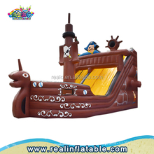 Popular Inflatable Corsair Bouncy Slide,Inflatable Pirate Boat Slide For Kids,inflatable trampolines from china
