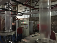 PE plastic film blowing extrusion machine