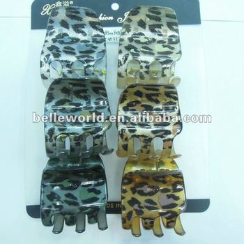 4.5CM mini leopard small claw clip this year the most fire effect style